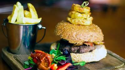Aughrus Restaurant - Steak Burger
