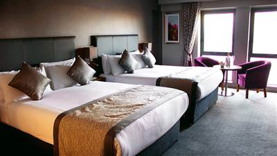 Allingham Arms - Deluxe Twin Room