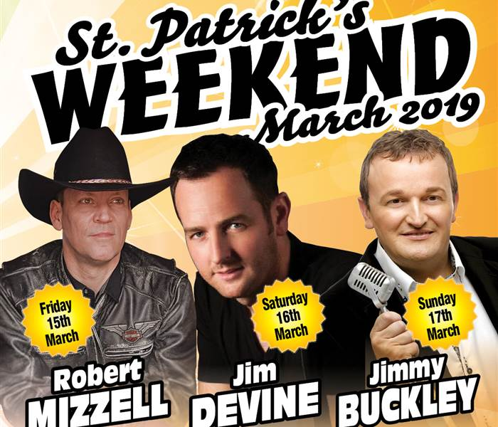 St. Patrick's Weekend 3 Nights B&B, 2 Dinners & Dances