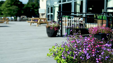 Armagh City Hotel Outdoor Seating