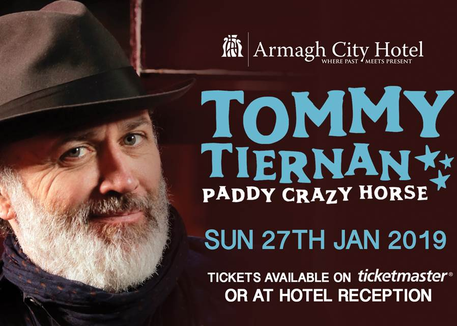 Tommy Tiernan website January