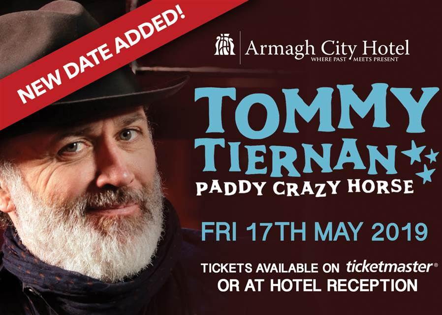 Tommy Tiernan website event