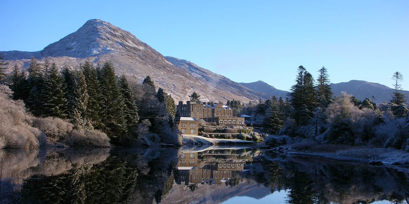 Ballynahinch Castle Snow
