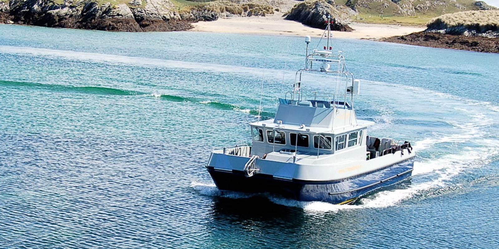 Brazen Hussey Charter Boat