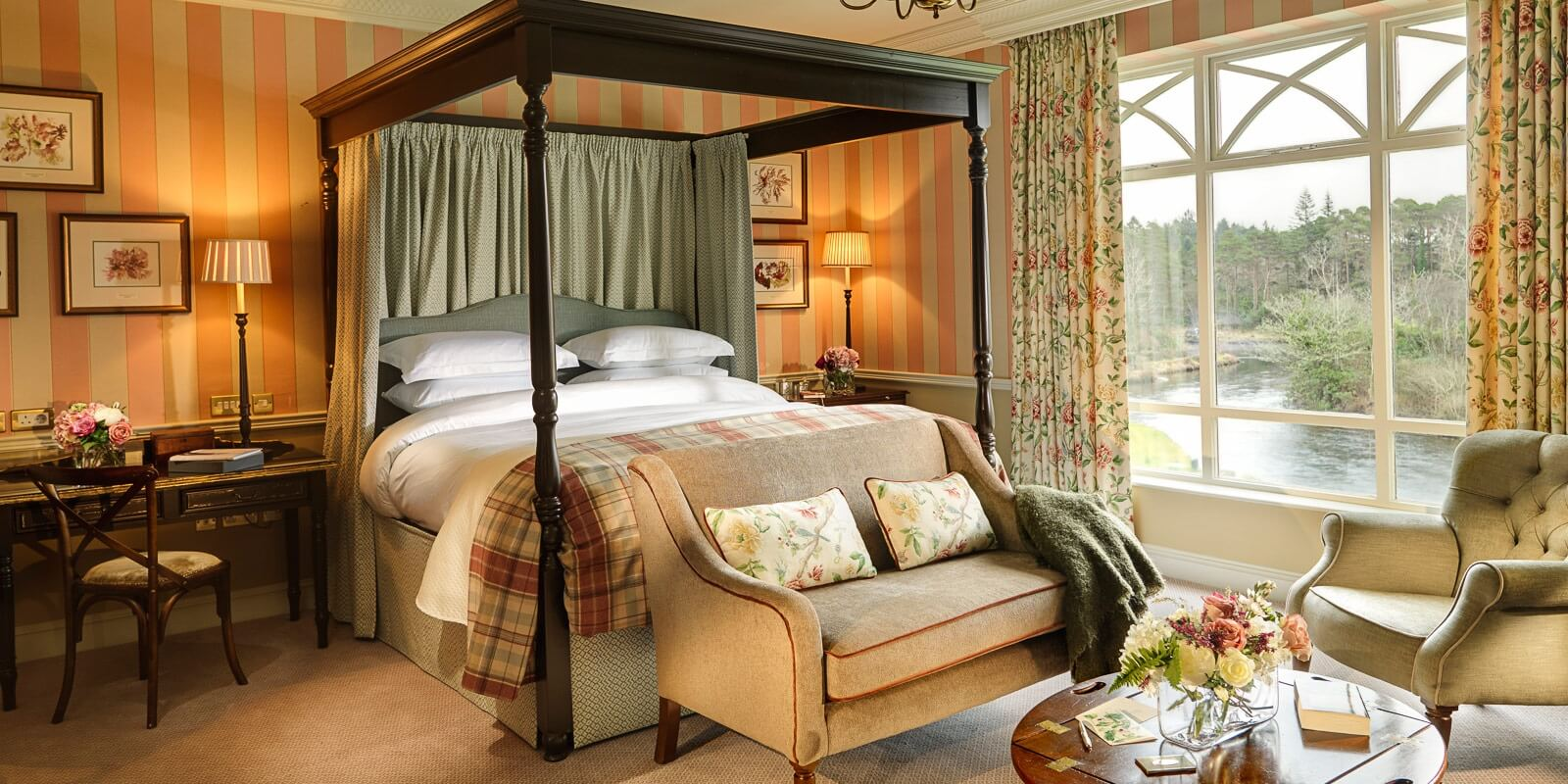 Bedroom in our Riverside Suite