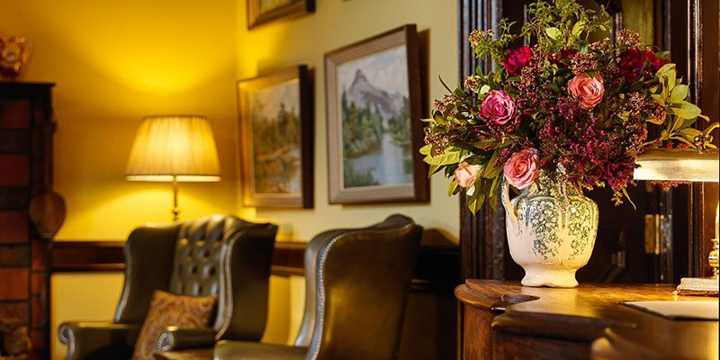 Flowers at Reception