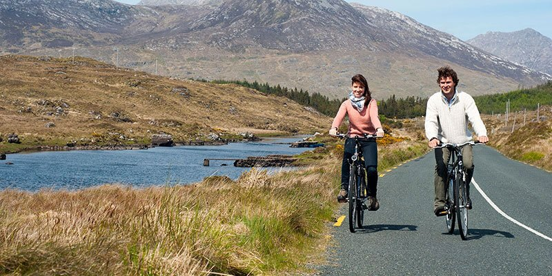 Leisurely Cycle in Connemara