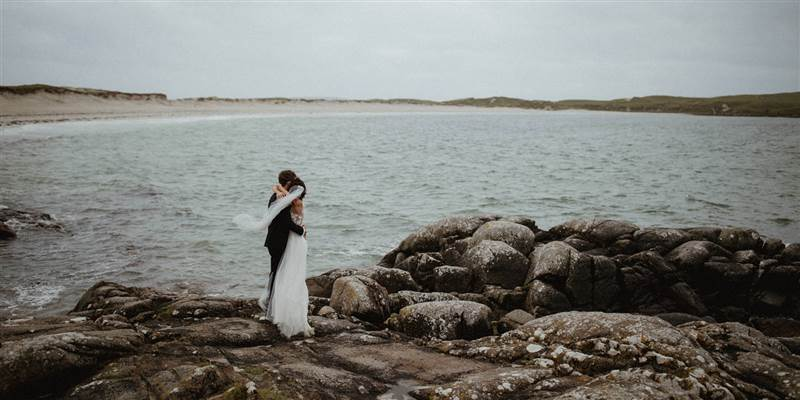 authentic Connemara landscape