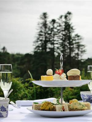 Afternoon Tea at Ballynahinch Castle 2