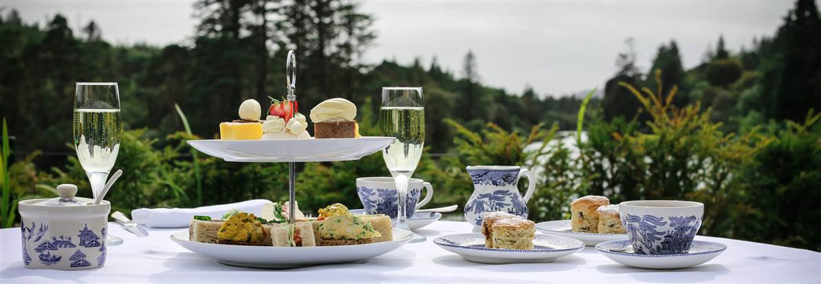 afternoon tea in Connemara