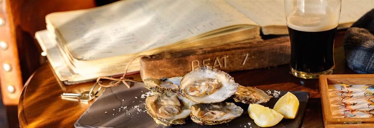Ballynahinch Fishermans Pub Oysters