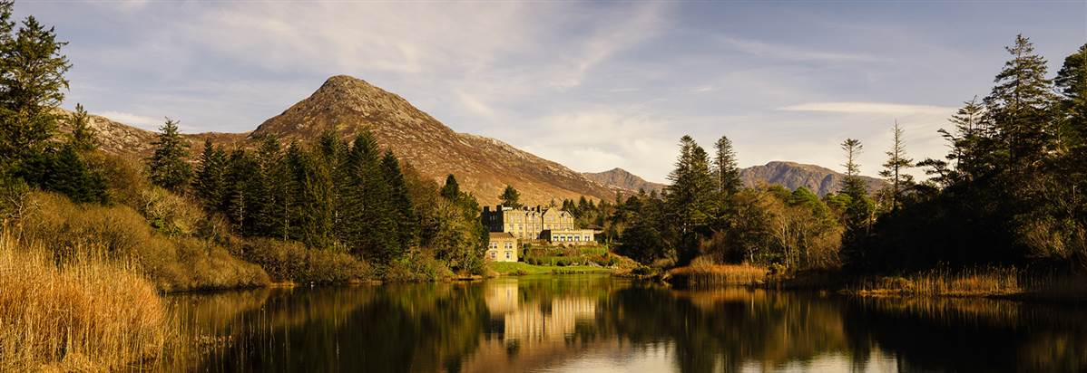 the hotel Contact the Ballynahinch Castle