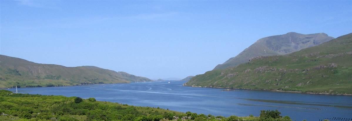 lake in connemara