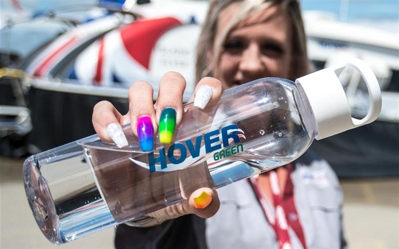 HoverGreen water bottle