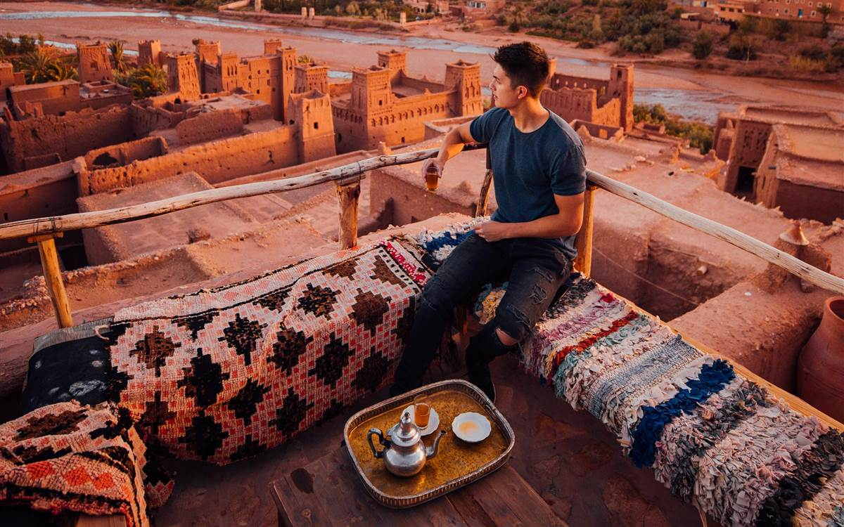 Travel Link - Sunrise in Ouarzazate