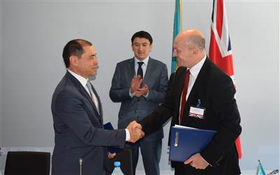 Hoverwork - Agreement signed in Kazakhstan