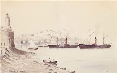 First Bland Ship - Adelia Arab