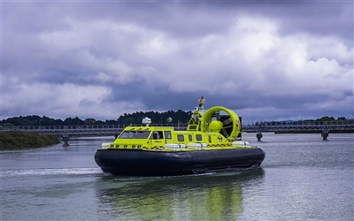 2000TD Auckland Airport Hovercraft