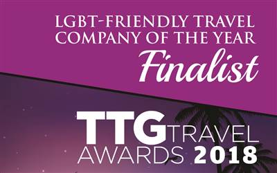 Hover Travel - Finalists in LGBT-Friendly travel company award