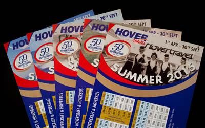 Hovertravel - Anniversary timetables