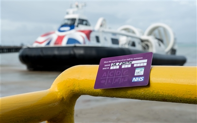 NHS Professional Card from Hovertravel e