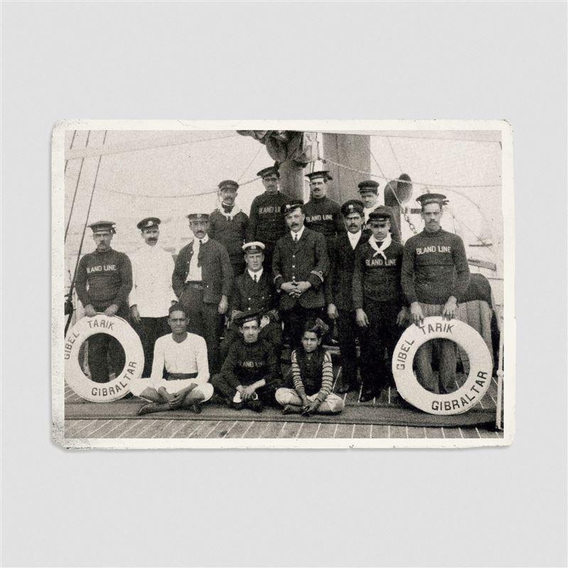 1866 - Hercules I Paddle Steamer, Gibel Musa I, Gibel