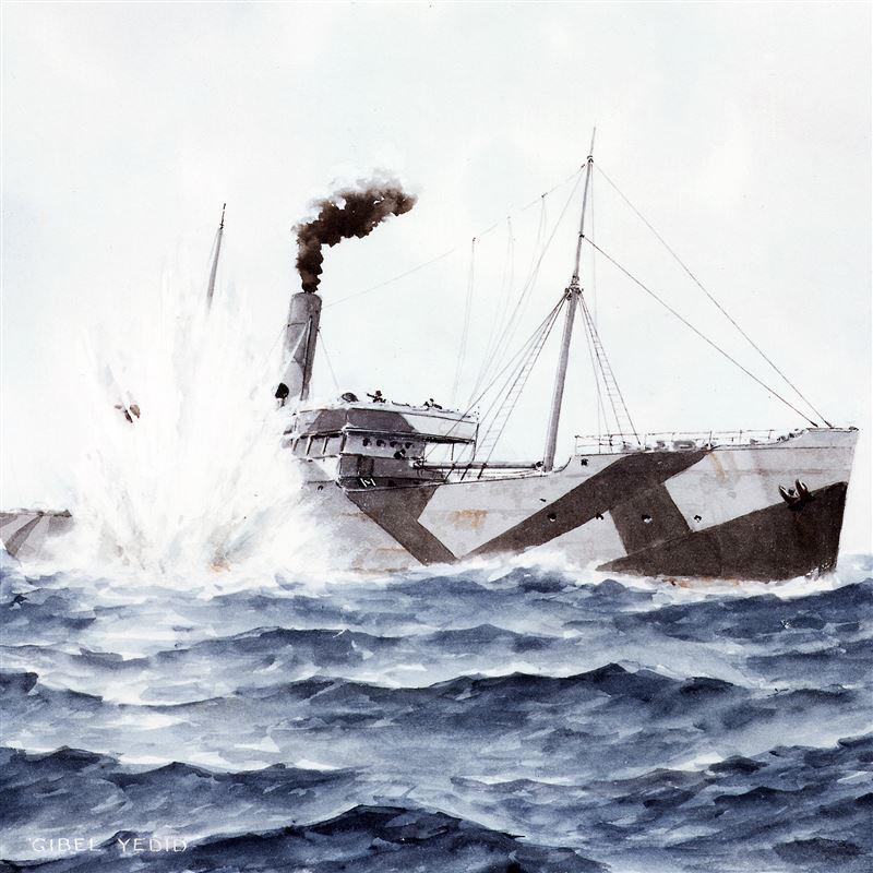 1914 1918 - Gibel Yedid I, Gibel Hanam II