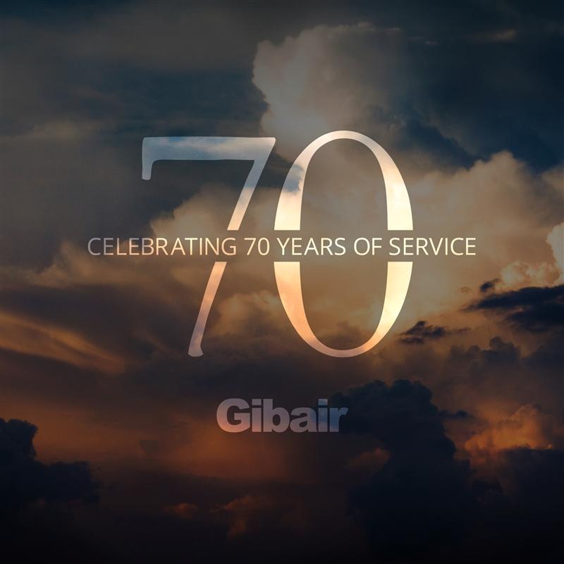 70 years gibair