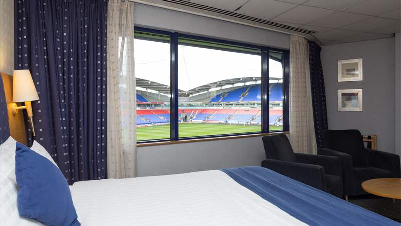 Bedroom at Bolton Whites