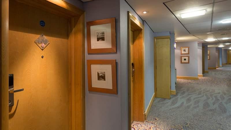 Corridor at Bolton Whites