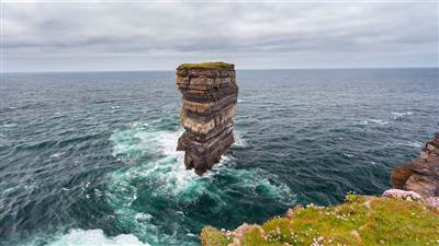 Downpatrick Head Seastack