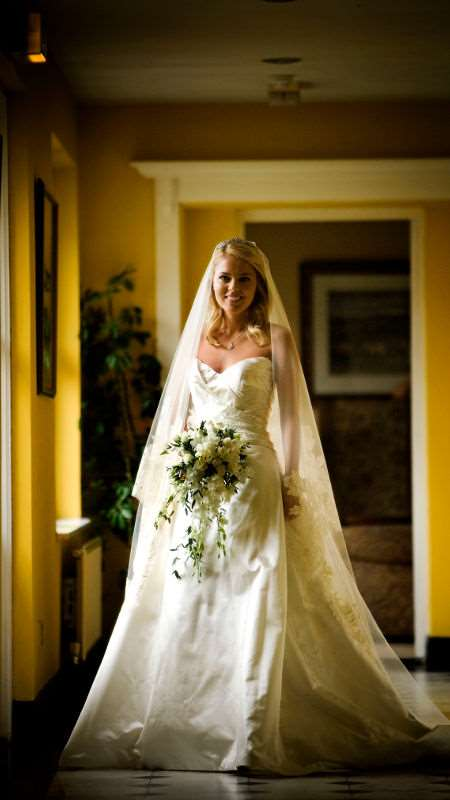 Bride at the Dunraven Arms Hotel