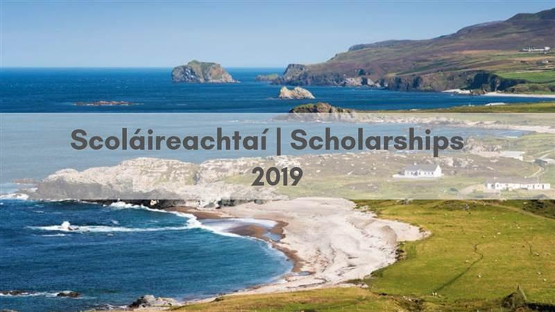 Scoláireachtaí   Scholarships 2019