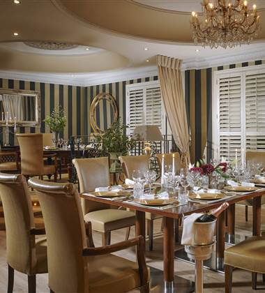Private Dining at Killarney Royal 2500