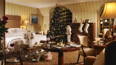 Bedroom at Christmas