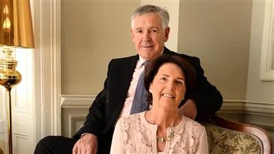 Proprietors Joe and Margaret Scally