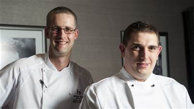 Executive Chef and Sous Chef
