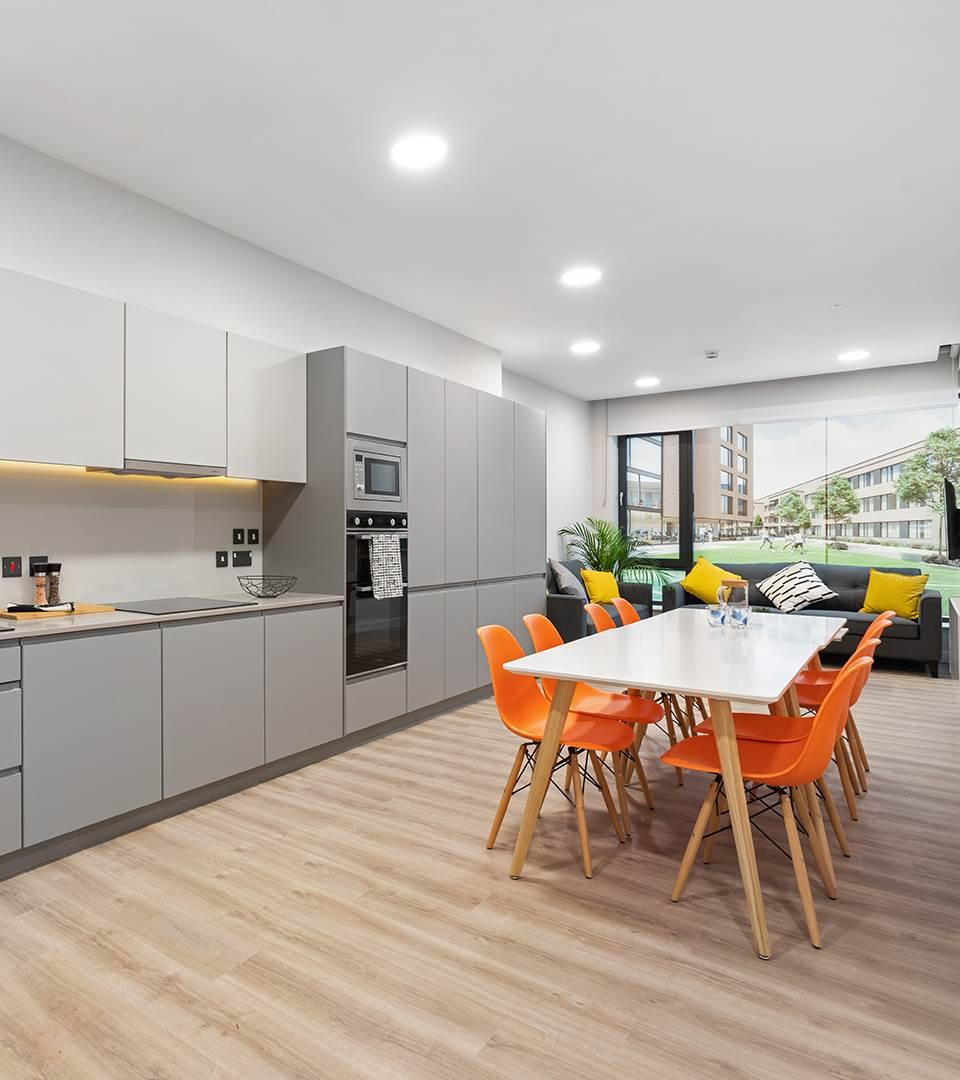 HighField House  Kitchen, Living, Dinin