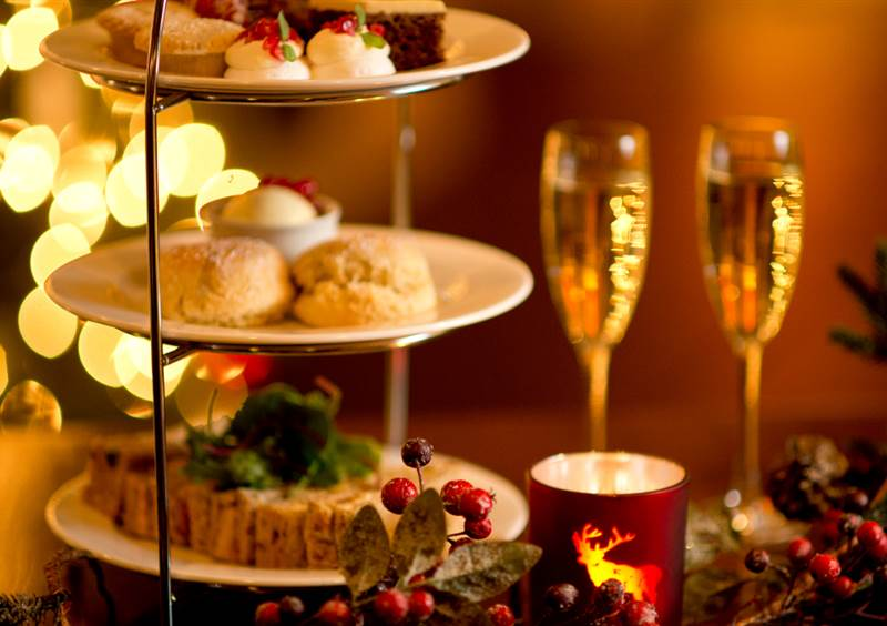 fabulously festive afternoon tea