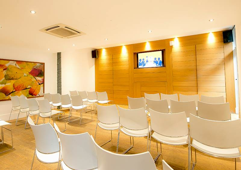 Theatre Style. Conference Room in Liverpool. Hope Street