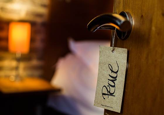 door rooms hotel in Liverpool. Hope Street