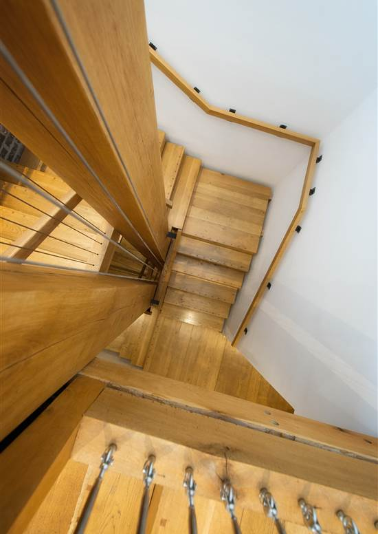 Interior stairs at Hope Street