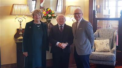 President Michael D. Higgins visit