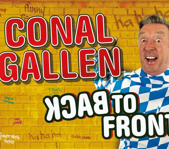 """Conal Gallen """"Back to Front"""""""