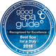 The Good Spa Guide 2016 Winner