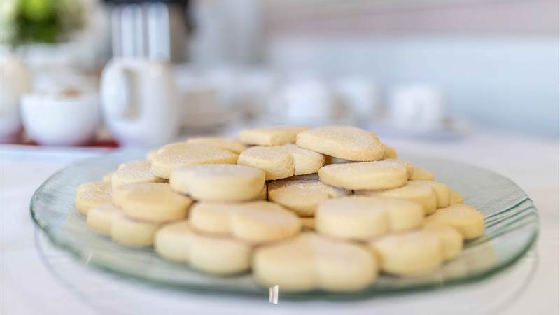 Complimentary Shortbread