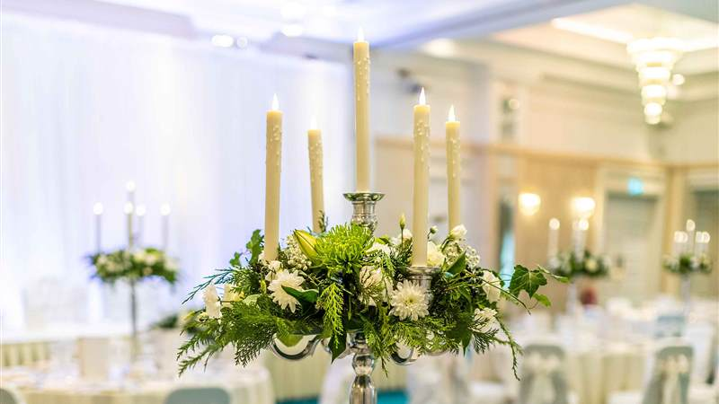 Candelabra Centre Pieces