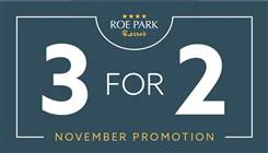 1631  Roe Park  3 for 2 Ezine Nov 2018