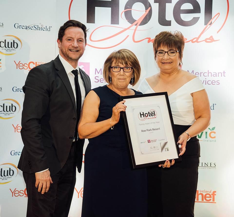 Roe Park celebrated at Irish Hotel Awards Night