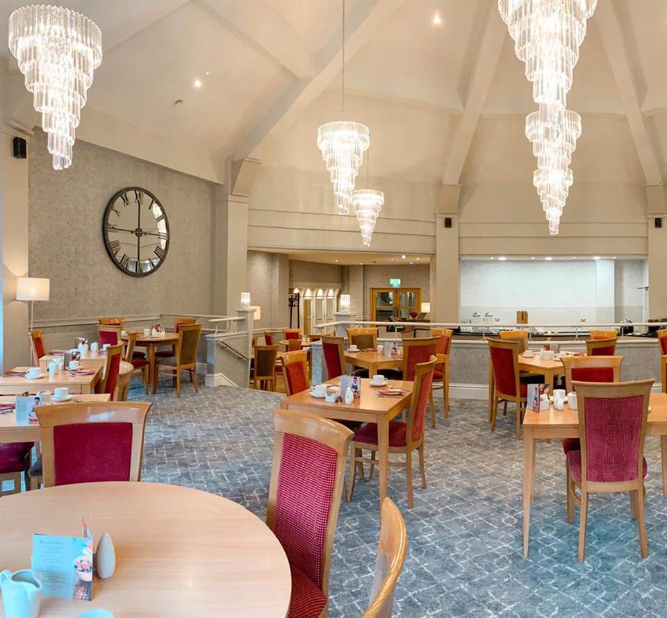 Introducing the Courtyard Restaurant